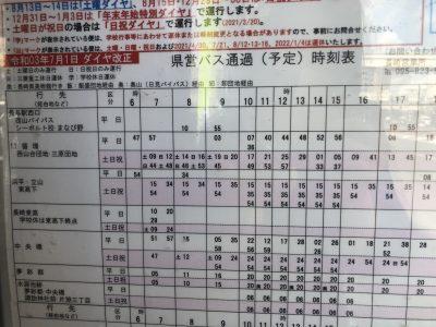 長崎駅前南口の時刻表